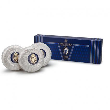Truefitt & Hill TRAFALGAR trójpak luksusowych mydeł 3x150gr