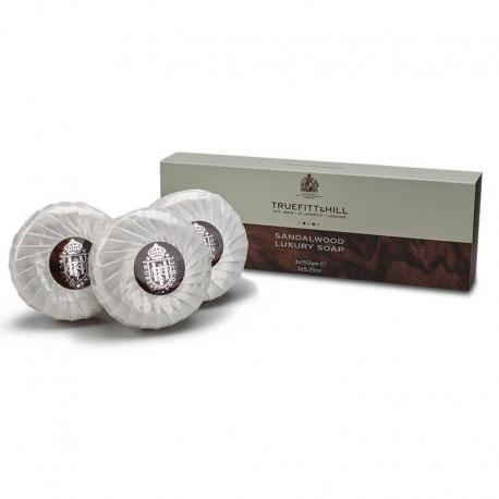 Truefitt & Hill SANDALWOOD trójpak luksusowych mydeł 3x150gr