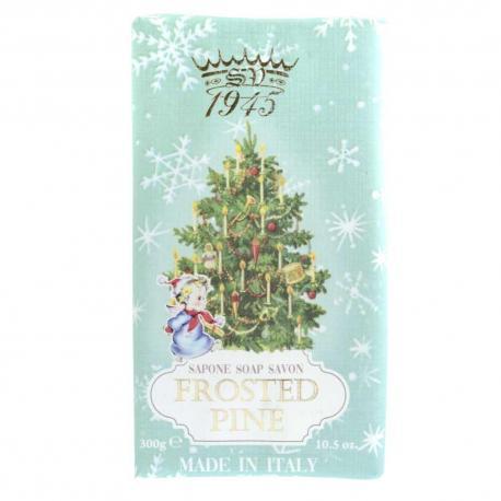 SAPONIFICIO VARESINO Frosted Pine świąteczne mydło toaletowe 300g