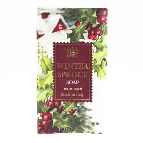 SAPONIFICIO VARESINO Winter Spruce świąteczne mydło toaletowe 300g