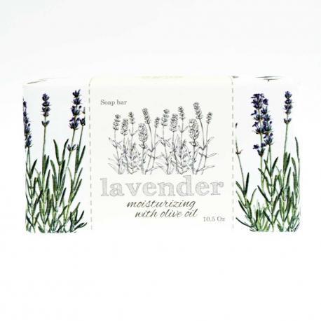 SAPONIFICIO VARESINO Lavender Olive Oil mydło toaletowe 300g