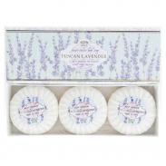 SAPONIFICIO VARESINO Tuscan Lavender zestaw mydeł na prezent