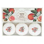 SAPONIFICIO VARESINO Orange Sanguine de Sicile zestaw mydeł na prezent