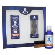Bluebeards zestaw do brody - olejek i szczotka