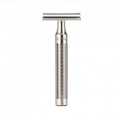 Maszynka do golenia na żyletki Muhle R94 ROCCA, srebrna