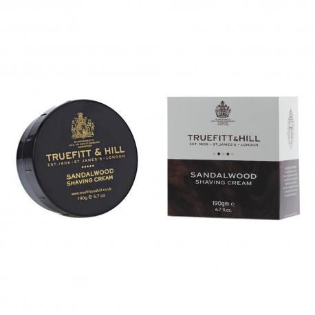 Truefitt & Hill SANDALWOOD krem do golenia w tyglu 190 gr