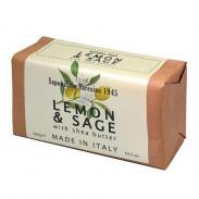 Saponificio Varesino lemon and Sage mydło do twarzy i ciała cytryna i szałwia 300g