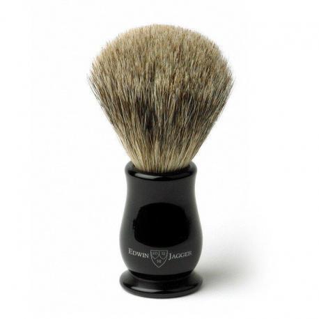 Pędzel do golenia EJ Chatsworth IECSBBB, borsuk BEST, uchwyt czarny