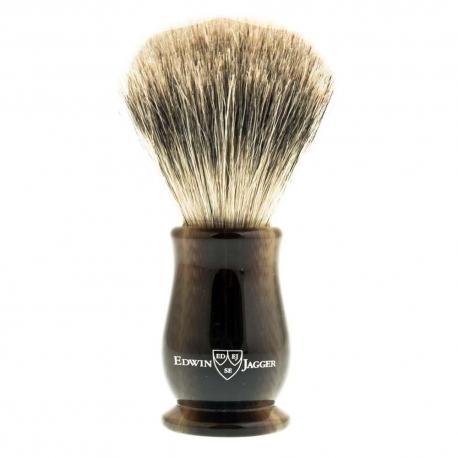 Pędzel do golenia EJ Chatsworth LHCSBBB, borsuk BEST, imitacja jasnego rogu