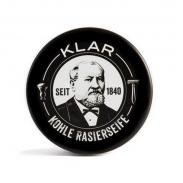 Klar Seifen AKTIVKOHLE węglowe mydło do golenia w tyglu 110g