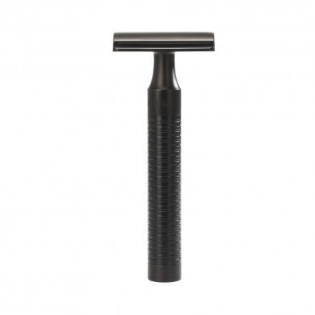 Maszynka do golenia na żyletki Muhle R96 JET ROCCA (cała czarna)