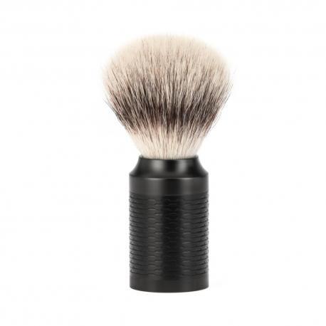 Pędzel do golenia Muhle ROCCA 31M96 JET (czarny), syntetyk SilverTip Fibres