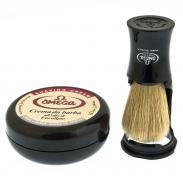 Zestaw do golenia Omega 59.81818, 2 cz, czarny
