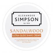 Simpson Sandalwood luksusowy krem do golenia 180ml (drzewo sandałowe)