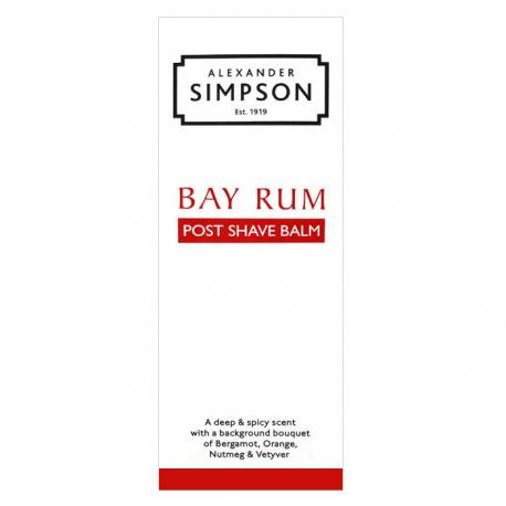 Simpson Bay Rum luksusowy balsam po goleniu 100ml