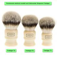 Simpson Trafalgar T2 pędzel do golenia syntetyk M (średni)