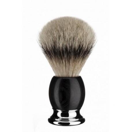 Pędzel do golenia Muhle SOPHIST 93H85, borsuk SILVERTIP, drewno grenadill