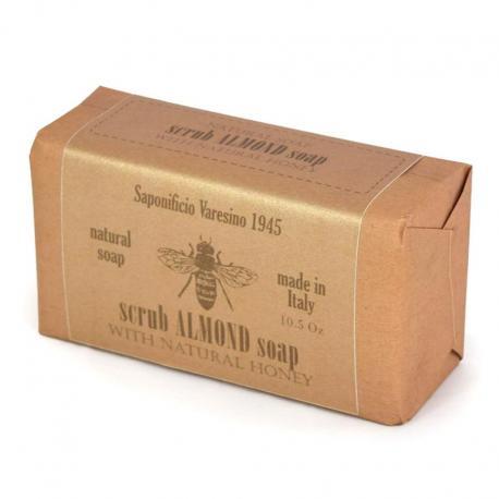 SAPONIFICIO VARESINO Scrub Almond & Honey mydło peelingujące migdały i miód 300g (papier)