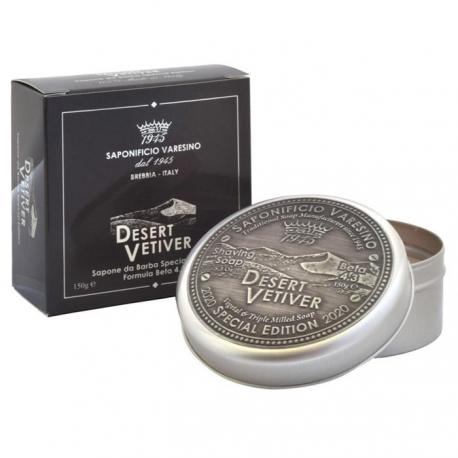 SAPONIFICIO VARESINO mydło do golenia Desert Vetiver w tyglu 150g