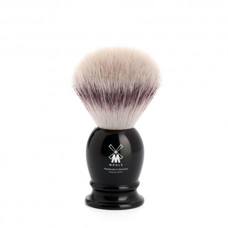 Pędzel do golenia Muhle CLASSIC 39K256, syntetyk SILVERTIP FIBRES, czarny
