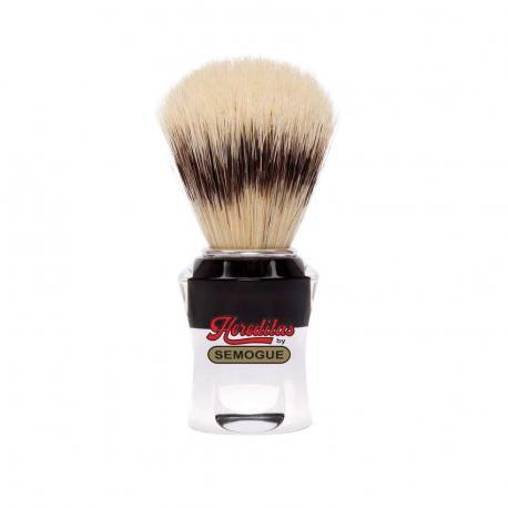 Pędzel do golenia SEMOGUE 620, szczecina EXTRA, szkło akrylowe