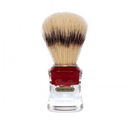 Pędzel do golenia SEMOGUE 830, szczecina PREMIUM, szkło akrylowe