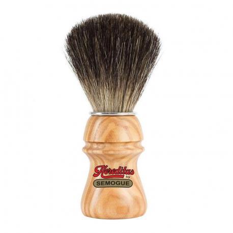 Pędzel do golenia SEMOGUE 2010, borsuk pure, drewno