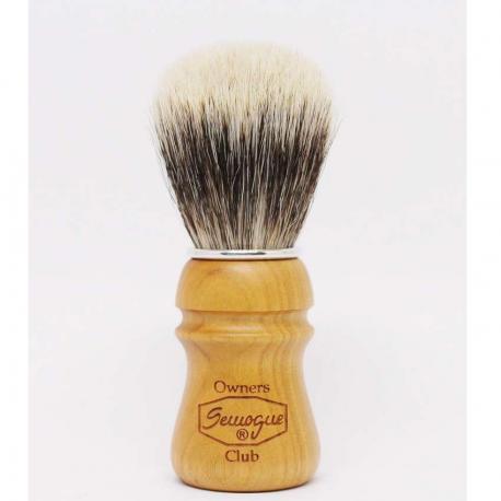 Semogue SOC Finest Mix Cherry Wood pędzel do golenia borsuk i szczecina