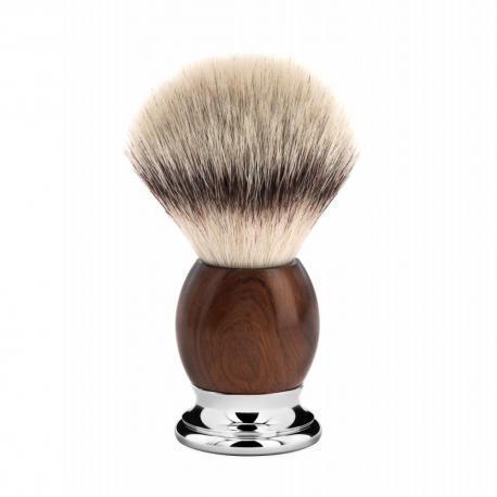 Pędzel do golenia Muhle SOPHIST 33H47, syntetyk SILVERTIP FIBRE, ironwood