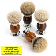 Pędzel do golenia Muhle SOPHIST 93H47, borsuk SILVERTIP, ironwood