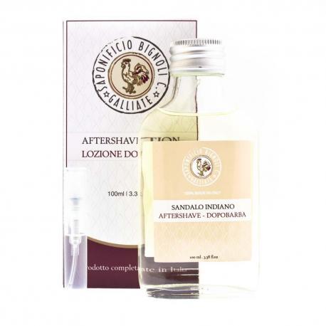 Tester zapachu Saponificio Bignoli drzewo sandałowe