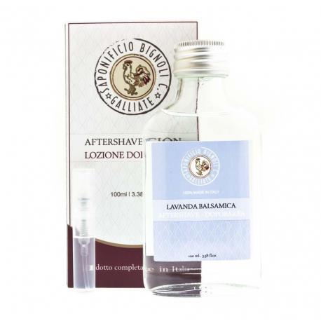 Tester zapachu Saponificio Bignoli lavanda balsamica
