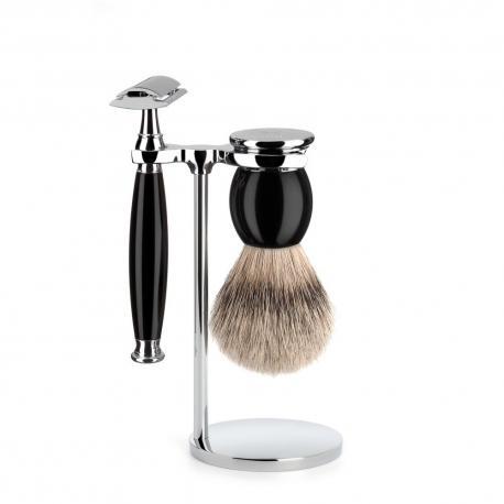 Zestaw do golenia Muhle SOPHIST S93K44SR czarny 3 częściowy