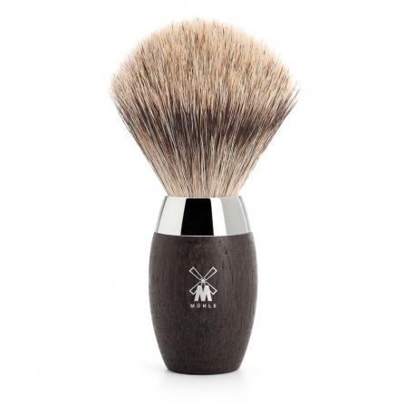 Pędzel do golenia Muhle KOSMO 281H873, borsuk BEST, dąb bagienny
