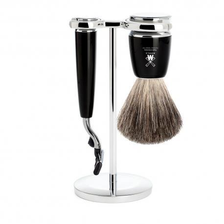 Zestaw do golenia Muhle RYTMO S81M226M3 czarny 3 cz. mach3