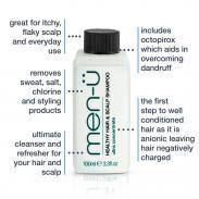 men-u HHSS normalizujący szampon do włosów i skóry 100ml
