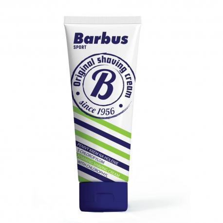 Barbus Sport krem do golenia z gliceryną i chlorofilem w tubce 75g