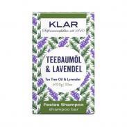 Klar Seifen Olejek herbaciany i Lawenda mydło do włosów przeciwłupieżowe 100g