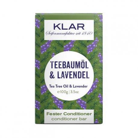 Klar Seifen odżywka do włosów Olejek Herbaciany i Lawenda 100g