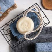 Klar Seifen Herren męskie mydło kąpielowe na sznurku 250g