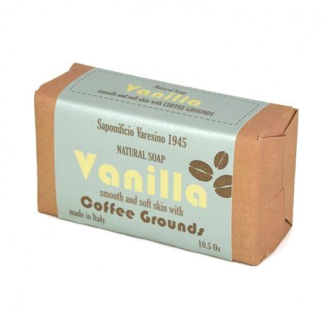 Saponificio Varesino Vanilla Coffee Grounds mydło peelingujące Wanilia i Kawa 300g (papier)