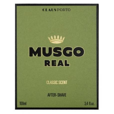 MUSGO REAL AFTER SHAVE CLASSIC SCENT 100ml