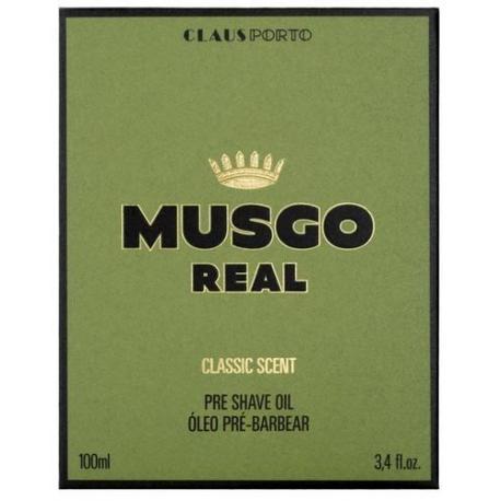 MUSGO REAL PRESHAVE OIL olejek przed goleniem 100ml