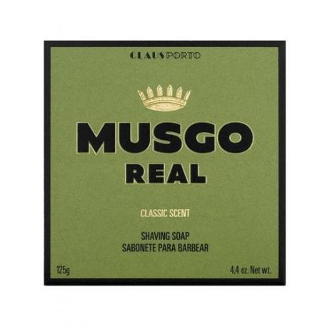 MUSGO REAL CLASSIC SCENT mydło do golenia 125gr