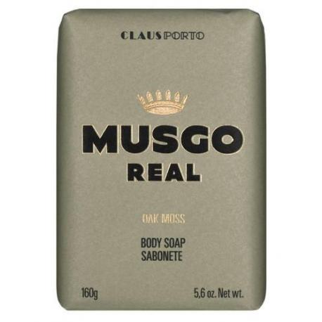 MUSGO REAL OAK MOSS mydło do ciała 160gr