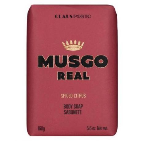 MUSGO REAL SPICED CITRUS mydło do ciała 160gr