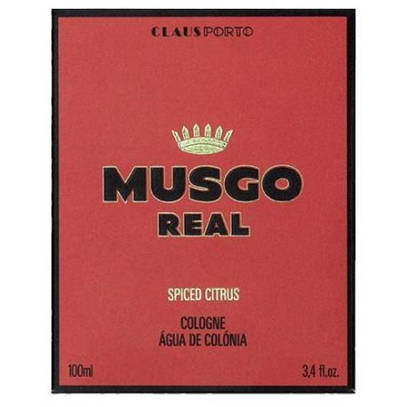 MUSGO REAL COLOGNE SPICED CITRUS woda kolońska 100ml