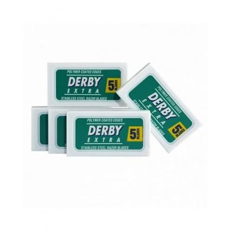 Żyletki Derby Extra (zielone) 25 sztuk