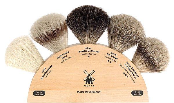 Pędzel do golenia - rodzaje włosia
