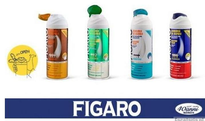 Figaro pianki do golenia